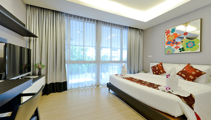 Skyy Royal Suite - Skyy Executive Residence - Sukhumvit Apartment