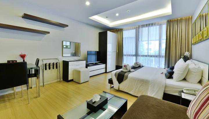 Studio Suite - Skyy Executive Residence Sukhumvit Hotel